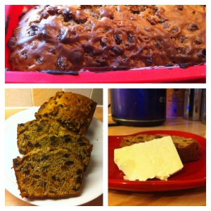 The Overnight Tea Loaf recipe from Sharon Clarkson (Pudsey CCC organiser)