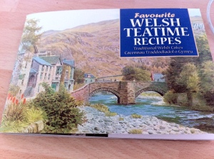 My Welsh baking book which I bought on holiday in New Quay.
