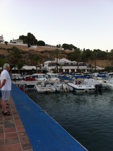 Moraira Harbour on the Costa Blanca in Spain