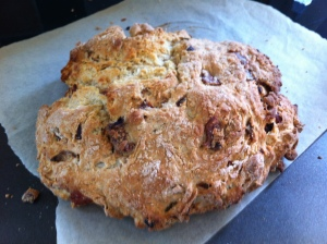 Crunchy Bacon Soda Bread from the Bread Chapter of the book on page 126.