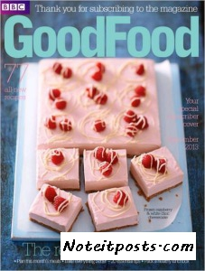 Good Food Magazine Cover September 2013. Image found on Google Images courtest of noteitposts.com