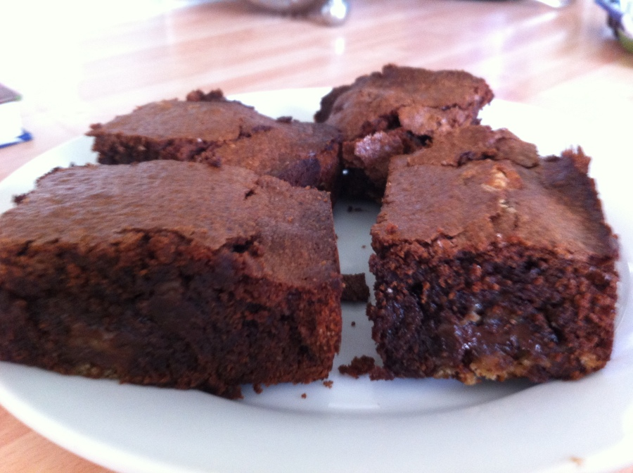 Cookie Dough Brownies- John Whaite Bakes At Home.