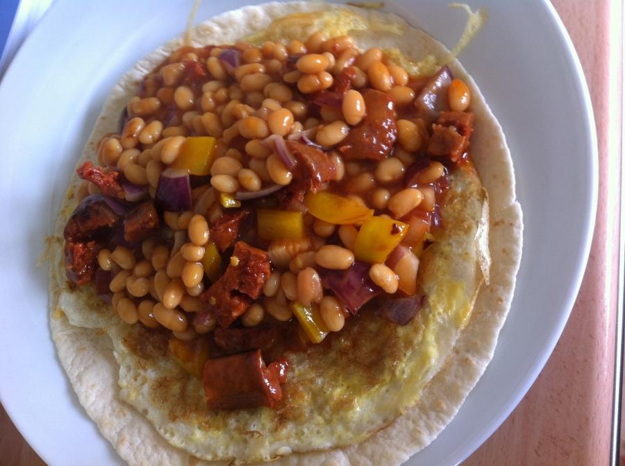 Brunch Burritos- John Whaite Bakes AtHome.