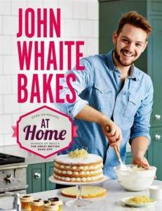 The front cover of John Whaite Bakes At Home.  Image courtesy of Google Images.
