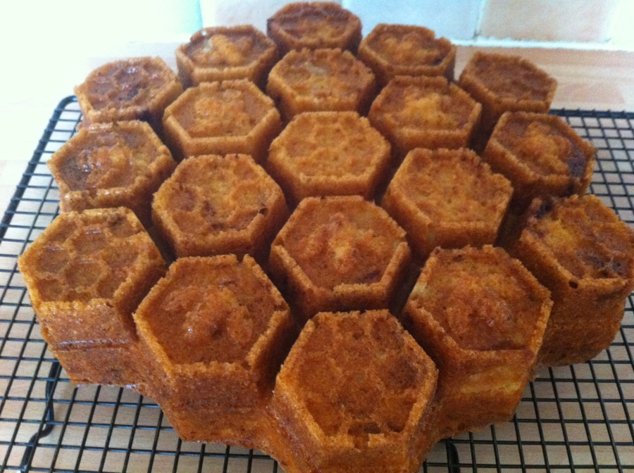 Honeycomb Bundt Cake