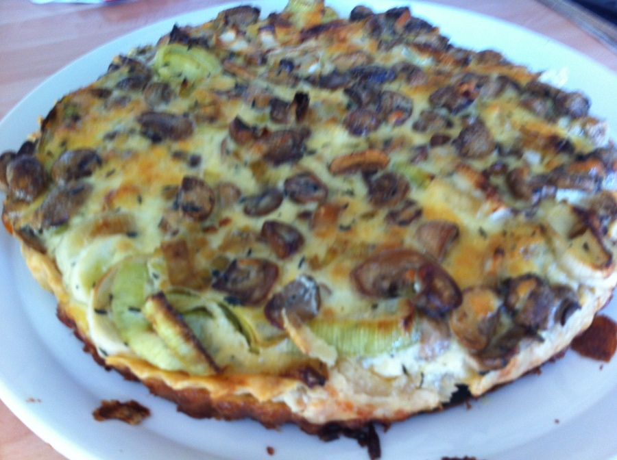 Man Quiche from Holly Bell's Recipes From A Normal Mum.