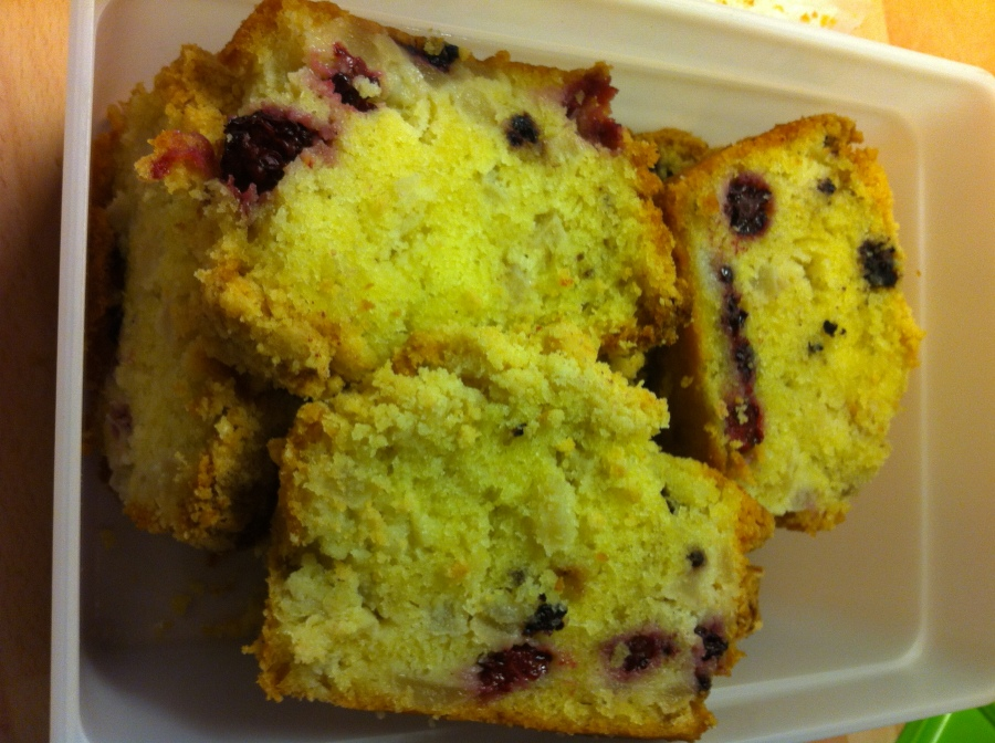 Apple and Blackberry Loaf Cake- A Passion For Baking.