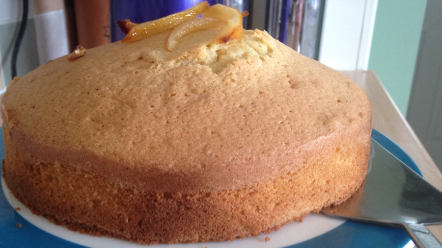 Lemon Madeira Cake from The Great British Bake Off Celebrations.