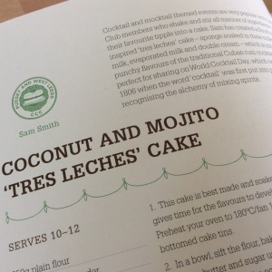 Here is the top part of my recipe as featured in the new Clandestine Cake Club Cookbook A Year Of Cake. It's on page 82.
