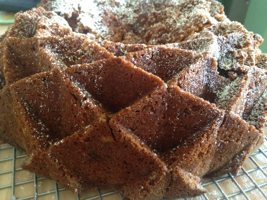 Honey and Apple Cake from The Clandestine Cake Club (A Year OfCake)