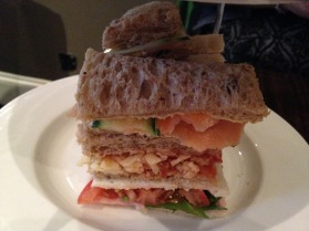 Mouthwatering sandwiches made with fresh bread.