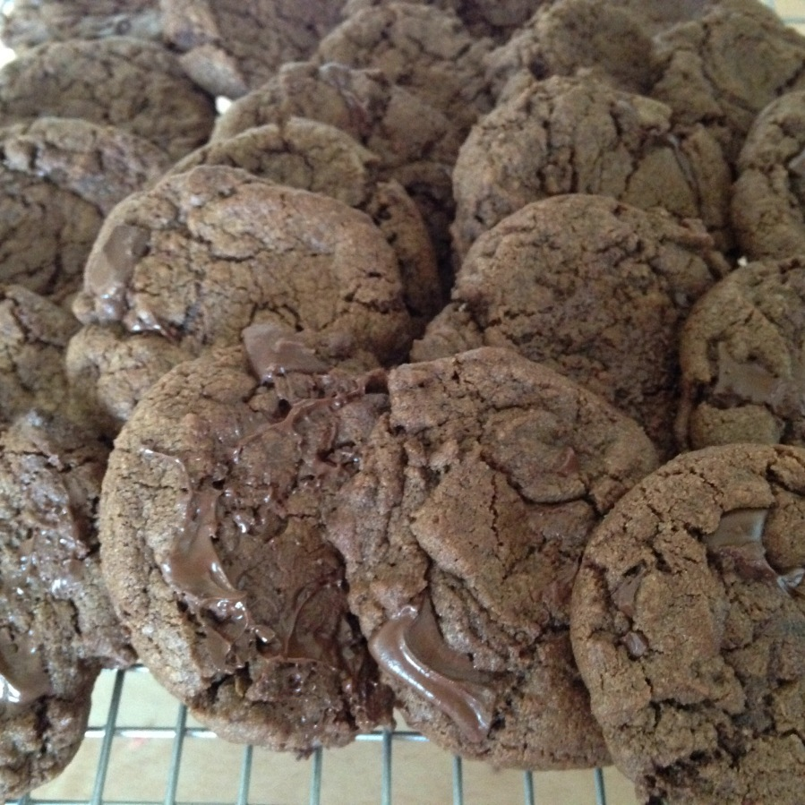 Orange Chocolate ChipCookies.