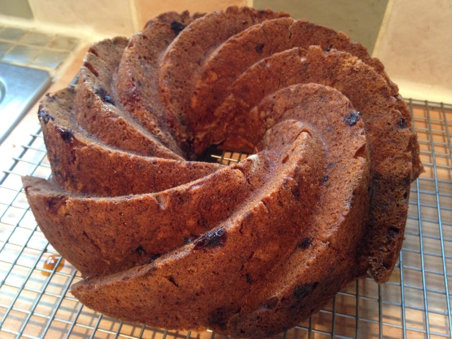 Banana Cake from the Nordic Bakery Cookbook.