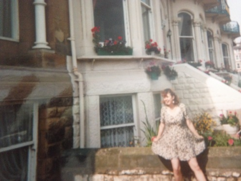 Same spot but in the summer of '93, this time I'm 21 and was at uni then!