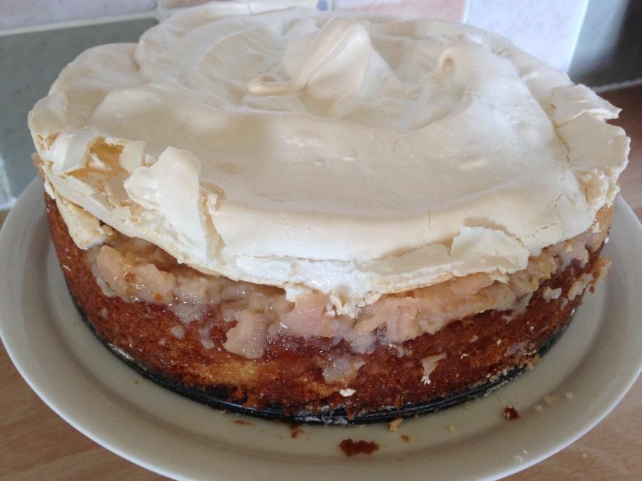 Apple Amber Cake