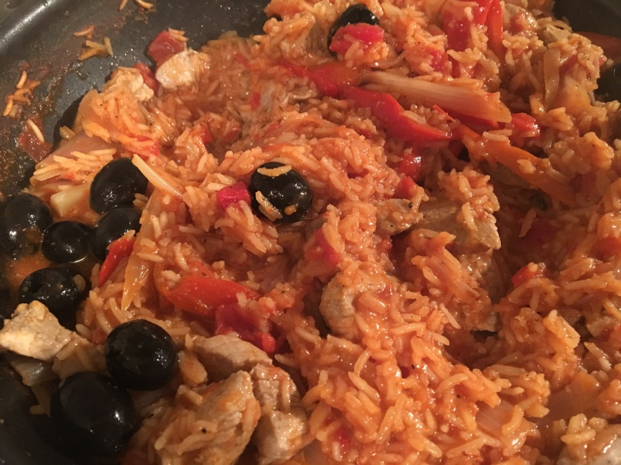Portuguese Pork and Rice- Mary Berry Everyday.