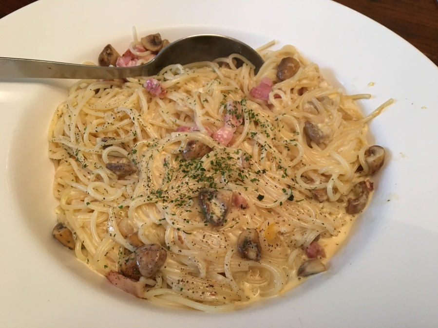 Spaghetti Carbonara- Midweek Meal.