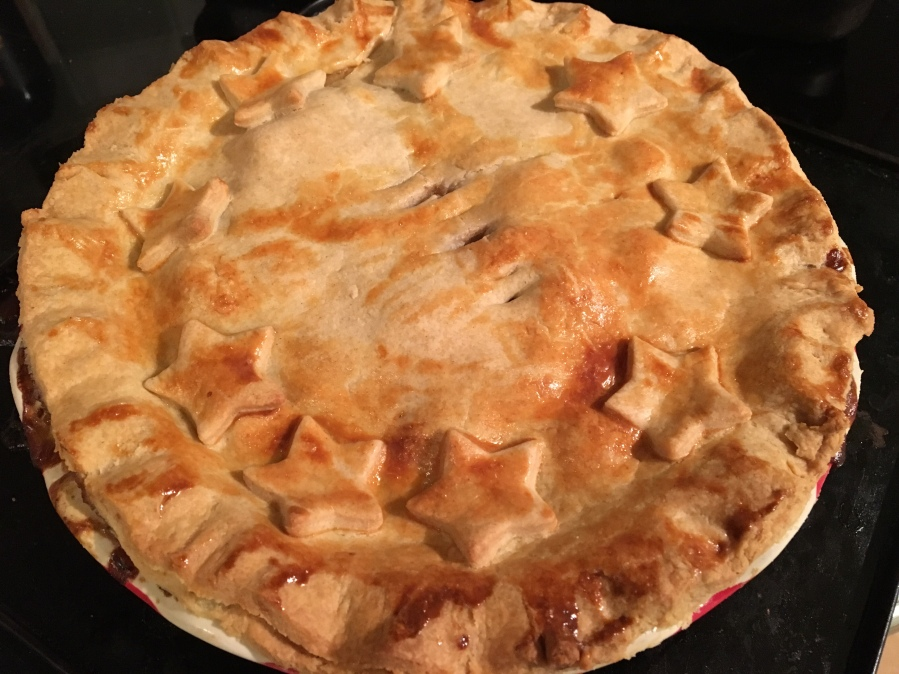 The Great British Bake Off Christmas- Beef and BeerPie.
